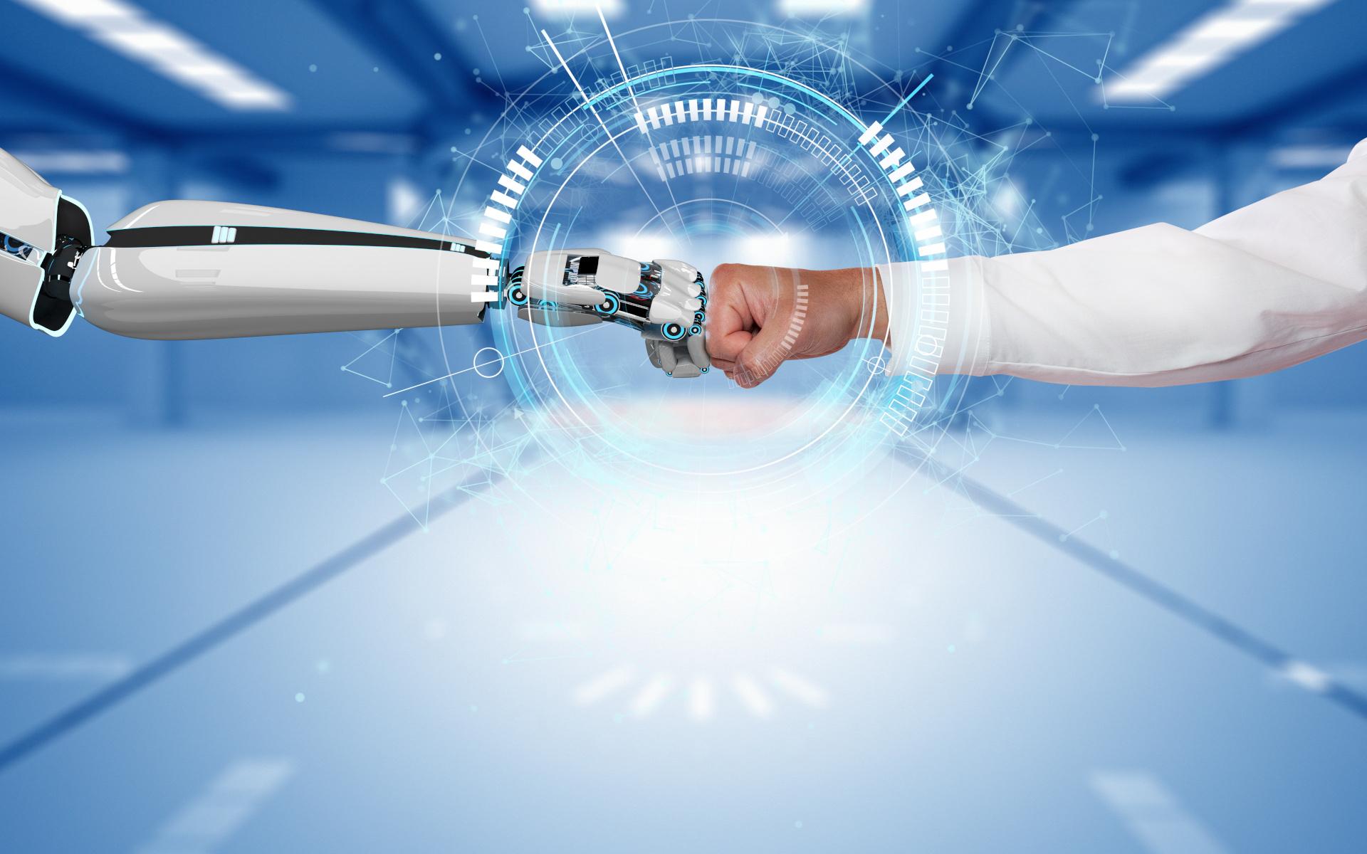 robot współpracujący z człowiekiem